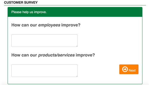 Clover-Customer-Survey-Customer-Details